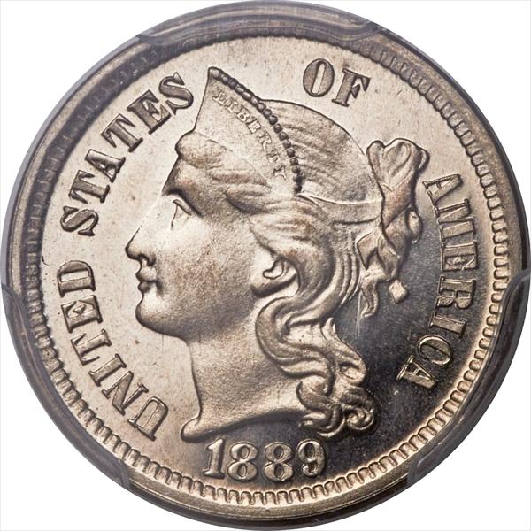 GFRC Open Set Registry - Winesteven 1865-1889 3Cent Nickel  3C